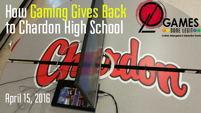 How Gaming Gives Back to Chardon High School