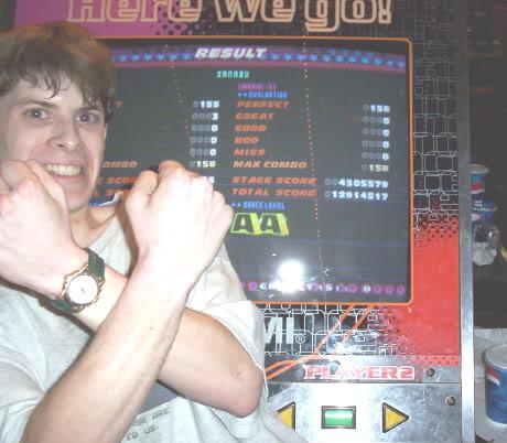 Xanadu AAA Chris Hatala Ghaleon DDR Games Done Legit