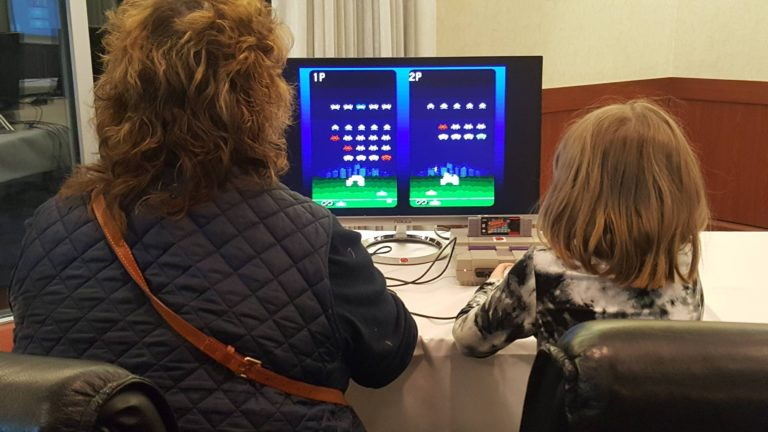 Space Invaders 2 player Parent Child