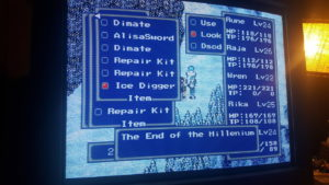 Phantasy Star IV 4 Fan Translation Items