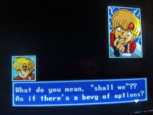 Phantasy Star IV 4 Fan Translation Story Dialog
