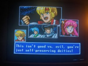 Phantasy Star IV 4 Fan Translation Story Rudy Chaz Mad