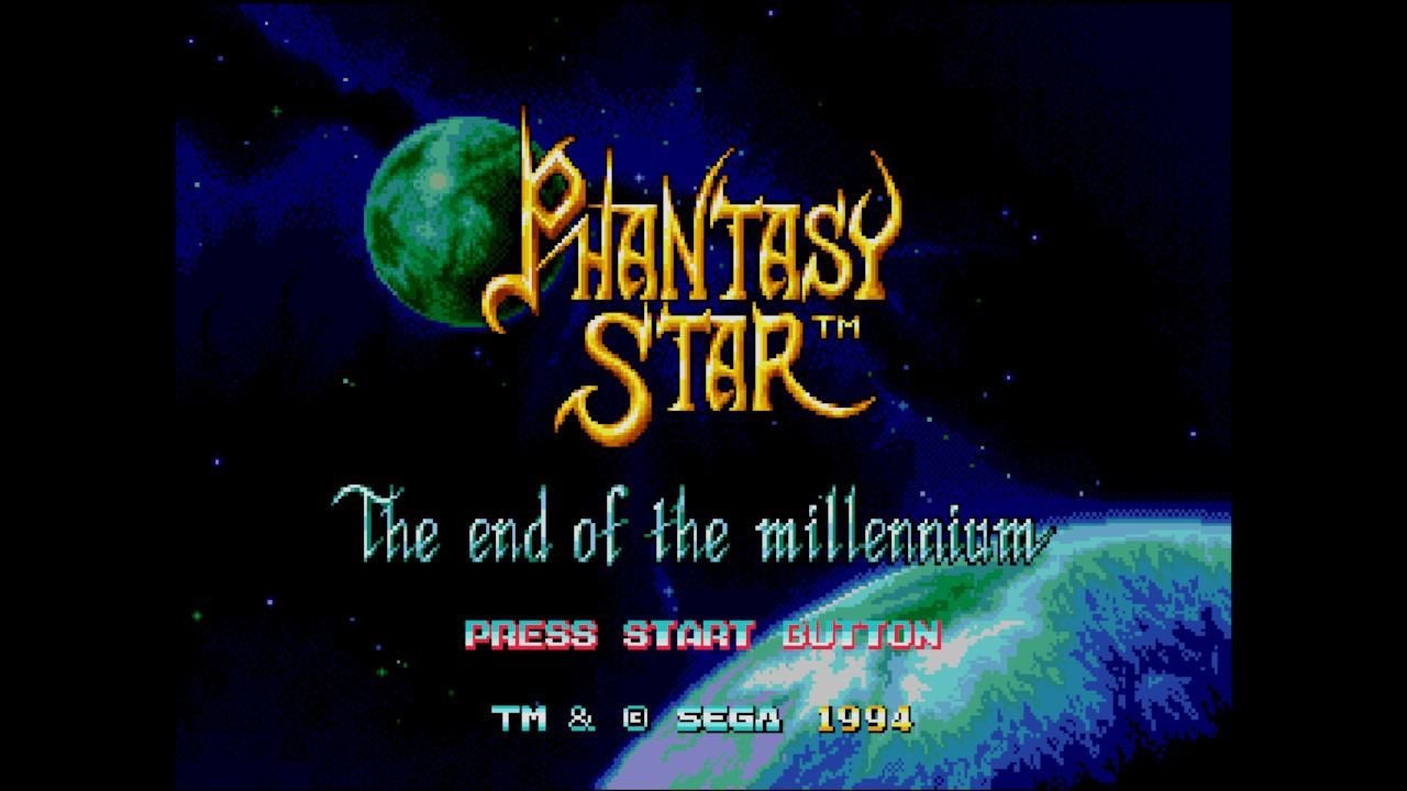 Phantasy Star IV Title