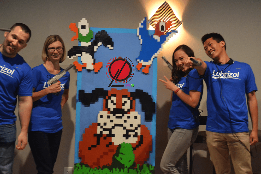 Cleveland Corporate Challenge Games Done Legit Videogame Gauntlet Lubrizol